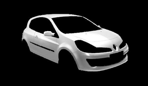 Цвета кузова Clio 3-х дверный
