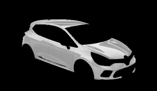 Цвета кузова Clio GT